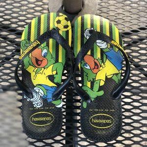 Black & Yellow Character Havaianas